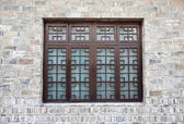 Chinese windows — Stock Photo