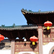 Stock Photo: Chinese building corner