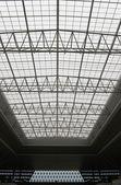 Steel roof — Stock Photo