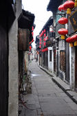 Chinese ancient street — Stock Photo