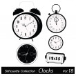 Vector Illustration: Time and timers — Stock Vector #18018887