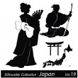 Vector Illustration: Japan and japanese - Stock Vector