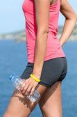 Detalle de hidratación de agua — Foto de Stock