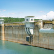 Dam in summer — Stock Photo #12644406