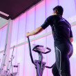 Stock Photo: Elliptical Gym