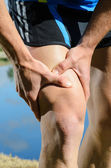 Runner Injury — Stock Photo