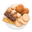 Delicious biscuits — Stock Photo