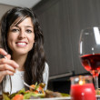 Dinner for couple — Stock Photo