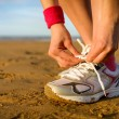 Running and sport concept — Stock Photo