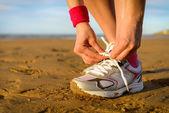 ランニングやスポーツ コンセプト — ストック写真