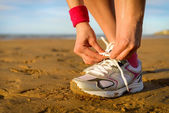 Running and sport concept — Stockfoto