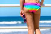 Concepto de vacaciones de verano y el mar — Foto de Stock