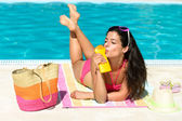 Summer skin care and protection — Stock Photo