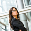 Confident business executive woman — Stock Photo