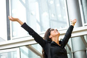 Woman business success — Stock Photo