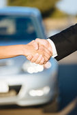 Car sale or rental concept — Stock Photo