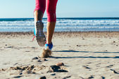 Beach runner — Stockfoto