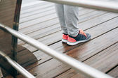 Fitness sport footwear — Stock Photo