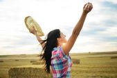 Farming and agriculture success concept — Stock Photo