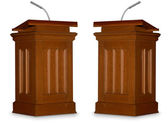 Debate — Stock Photo