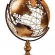 Antique Globe - Stock Photo
