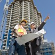 Developer and Foreman - Foto Stock