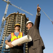 Contractor and Foreman — Stock Photo