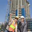 Stock Photo: Developer & Foreman