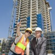 Developer & Foreman - Stock Photo