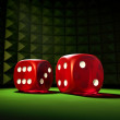 Gambling Dice — Stock Photo