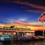 American Diner — Stock Photo #13450516