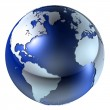 3d Earth Structure — Stock Photo