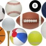 Colección bola surtidos — Foto de Stock