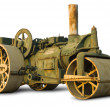 Vintage Steam Roller - Stock Photo