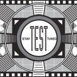 Retro TV Test Pattern — Stock Photo