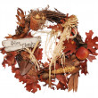Thanksgiving Wreath - Stock Photo