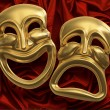 Foto de Stock  : Comedy Tragedy Masks