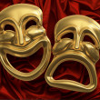 Comedy Tragedy Masks - Stock Photo
