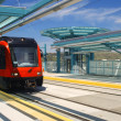 Light rail trolley — Stock Photo #13455668