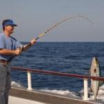 pesca em alto mar — Foto Stock
