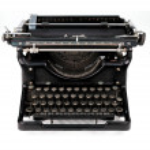 Antique typewriter — Stock Photo #13455984