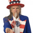 Stock Photo: Uncle Sam Wants Your Money