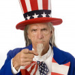 Stock Photo: Uncle Sam Wants YOU!