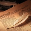 Stock Photo: US Constitution medium