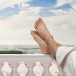 Vacation feet — Stock Photo