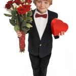 Valentine Boy — Stock Photo