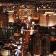 Las Vegas Strip from above - Stock Photo