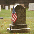 Stock Photo: Soldier's grave