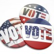 Vote Button — Stock Photo