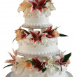 3 layer wedding cake — Stock Photo #13457065